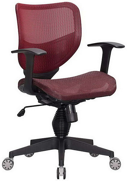 HP362-06 全網椅TS-080/紅網/氣壓+後仰