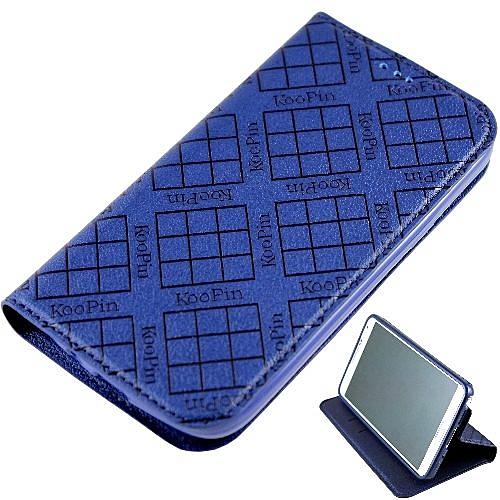 KooPin 三星 Galaxy Grand Neo i9060 隱磁系列 超薄可立式側掀皮套◆贈! 抽拉式手機套◆