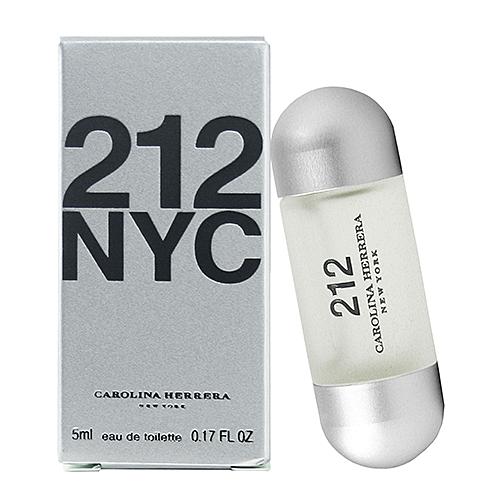 【Carolina Herrera】212 都會 女性淡香水 5ml(原廠沾式)