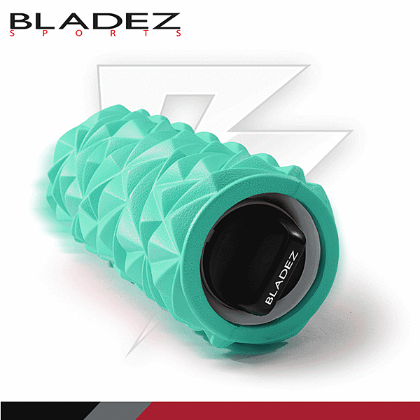 BLADEZ MR2摩動輪3速深層震動滾筒 湖水藍色