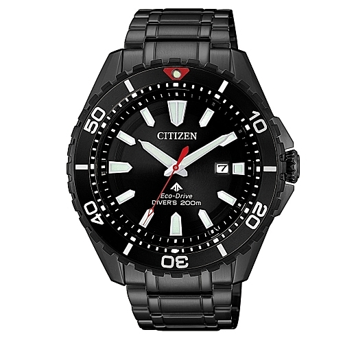 CITIZEN 星辰PROMASTER 深海潛水運動流線腕錶/200米/BN0195-54E