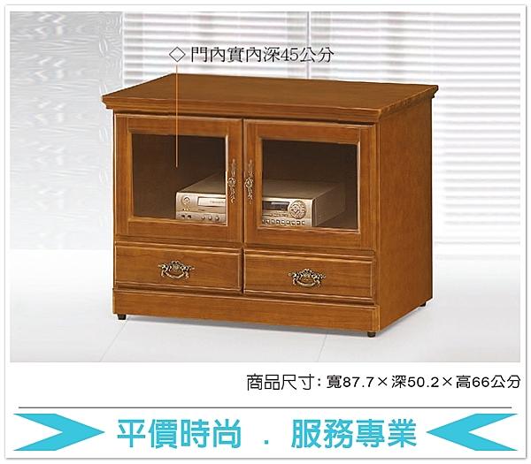 《固的家具GOOD》628-2-AT 和風樟木3尺電視櫃【雙北市含搬運組裝】