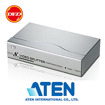 ATEN 宏正 8 port 視訊分配器 (300MHz) VS98A