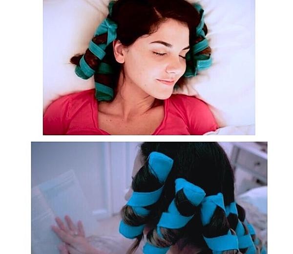 TSS睡覺免燙捲髮筒(8入) 魔術捲髮棒 海綿乾髮睡覺捲髮器 the sleep styler