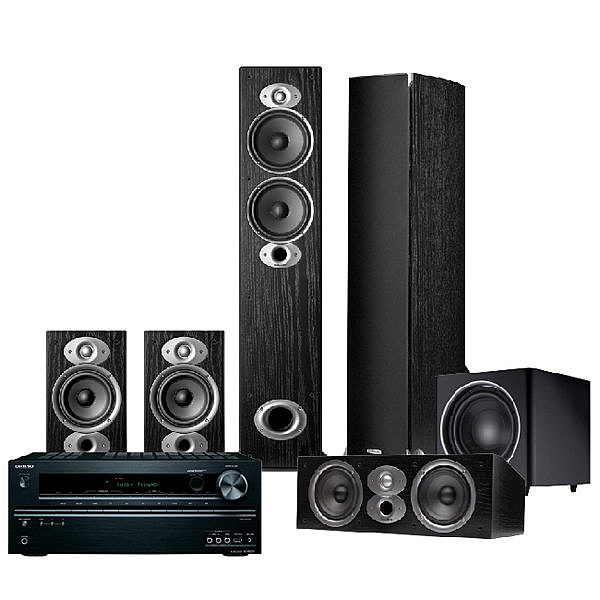 美國 Polk Audio RTiA5 5.1聲道 家庭劇院組 (TX-NR686+RTiA5+CSiA4+RTiA1+PSW110)