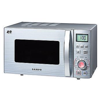【SAMPO 聲寶】23L燒烤型微波爐RE-N623TG《刷卡分期+免運》