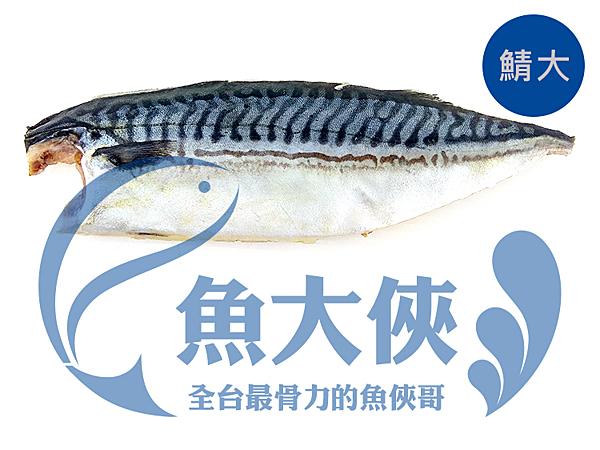1D1B【魚大俠】FH156(營)挪威鯖魚片(170/210規格@鯖大)整件10KG