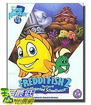 [美國直購 ShopUSA] Freddi Fish 2: Case of the Haunted Schoolhouse  $1011