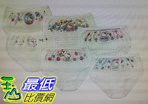 [COSCO代購] W37674-B 女童卡通圖案純棉內褲 6 件入