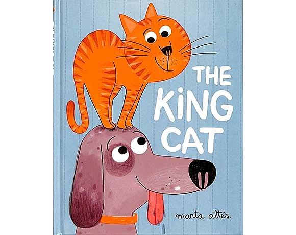 The King Cat 家裡的國王貓 精裝繪本