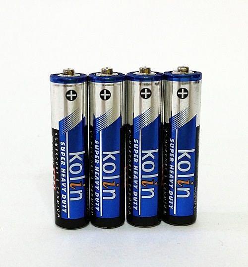 歌林碳鋅電池4號4入