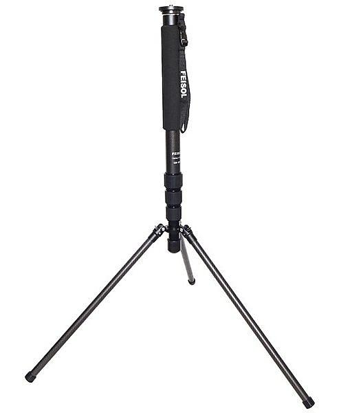 晶豪泰 FEISOL CM-1473 CM1473 Rapid 大型混合式碳纖維單腳架 (37mm) - 可當閃燈架