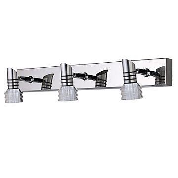 現代簡約鏡前燈不鏽鋼鏡前鋁材防鏽