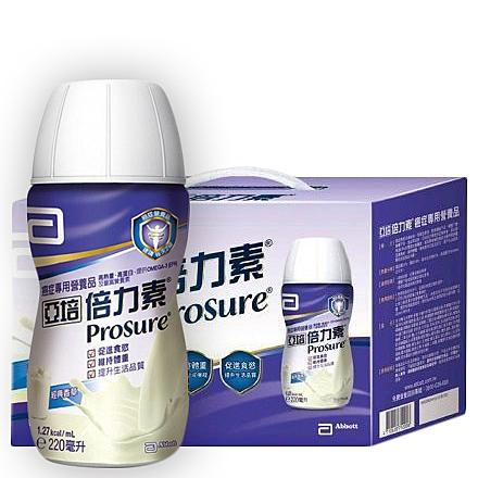 亞培 倍力素香草禮盒8瓶*220ml/盒 [美十樂藥妝保健]