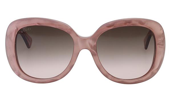 GUCCI  復古百搭 太陽眼鏡 粉色 GG3830FS