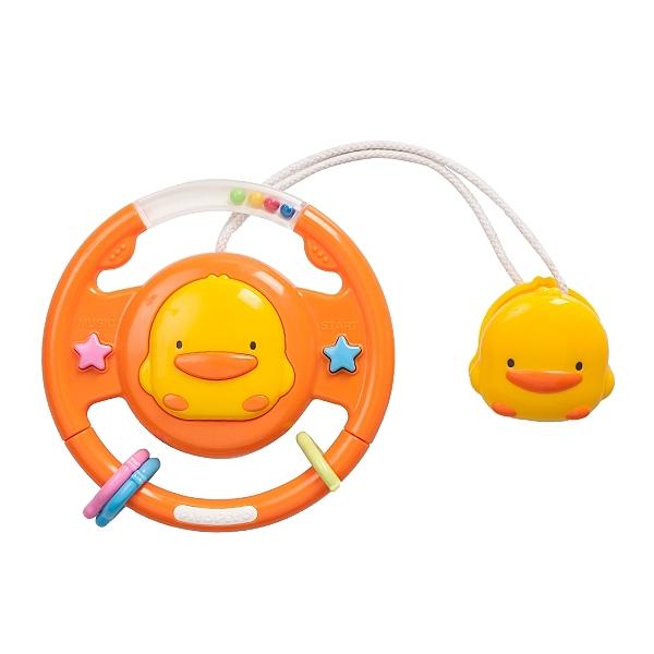 黃色小鴨冒險寶貝方向盤【德芳保健藥妝】