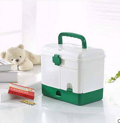 京東生活小物家庭用特大號藥箱家用多層塑膠醫藥箱急救箱藥品收納箱保健箱