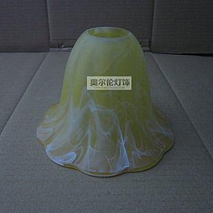 淡黃磨砂玻璃 E27燈罩