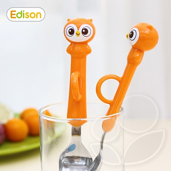 Edison 愛迪生 Ring指環訓練湯叉組 2y+【佳兒園婦幼館】