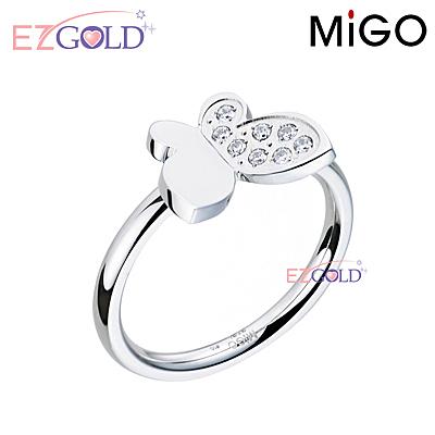 MiGO鋼飾♥青春飛揚♥鋼飾戒指