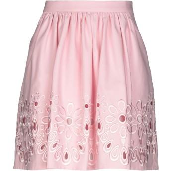 《セール開催中》BOUTIQUE MOSCHINO レディース ミニスカート ピンク 42 コットン 96% / 指定外繊維 4%
