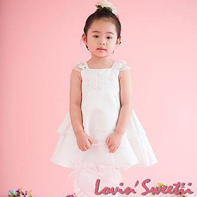 【Lovin' Sweetii】可愛小公主童洋裝限量款-香檳金色