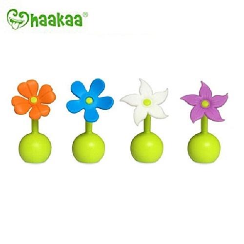 紐西蘭Haakaa - 第二代真空吸力小花集乳器配件 小花瓶塞
