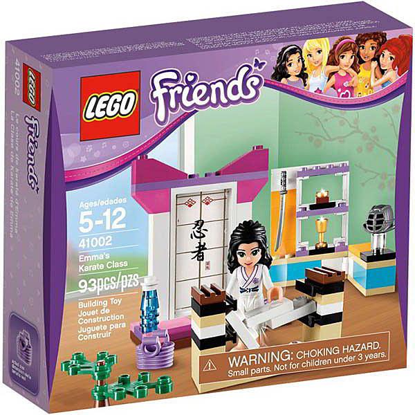 41002【LEGO 樂高積木】姊妹淘系列 Friends -艾瑪的空手道課