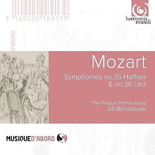 【停看聽音響唱片】【CD】莫札特:第35號交響曲「哈夫納」、第36號交響曲「林茲」