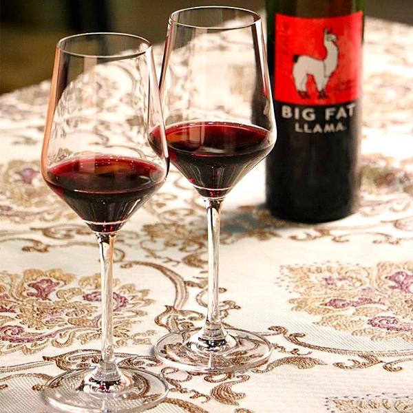 紅酒杯 情侶2個一對創意家用套裝歐式奢華高檔大號水晶高腳玻璃杯 - 古梵希