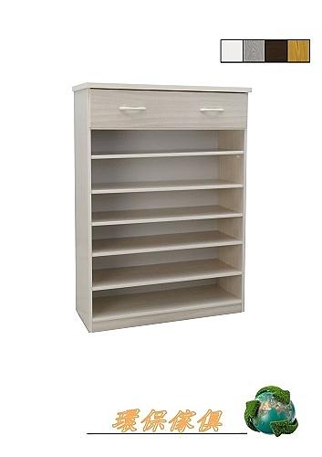 【環保傢俱】塑鋼開放式鞋櫃.塑鋼置物櫃(整台可水洗) 222-02