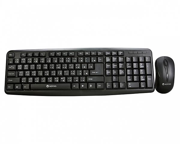 《鉦泰生活館》KINYO PS/2鍵盤+USB滑鼠組 KBM-350