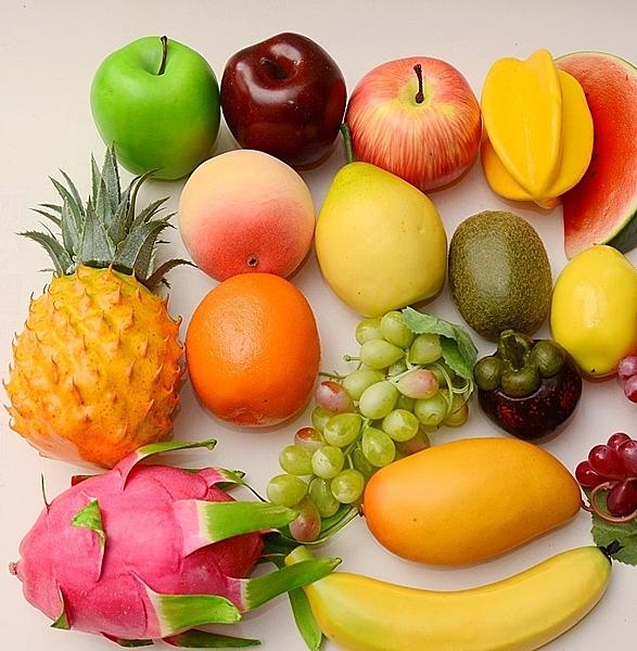 [協貿國際]仿真水果蔬菜蔬果模型整套價(17個1套)
