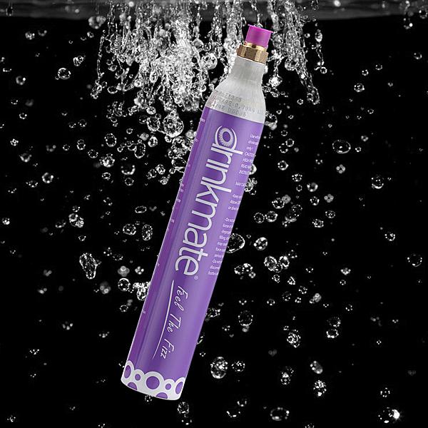 drinkmate氣泡水機專用CO2氣瓶0.6L-生活工場