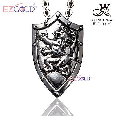 SILVER KINGS原生飾代♥龍馬精神♥鋼飾項鍊