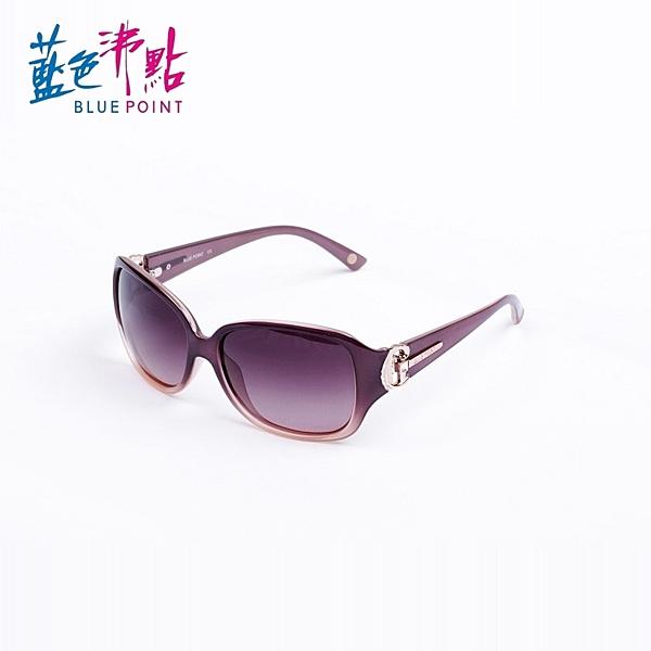 《FUTIS》BLUE POINT 藍色沸點 偏光太陽眼鏡 偏光鏡 抗UV400 防眩光反射光 B2011_C1 透明紫