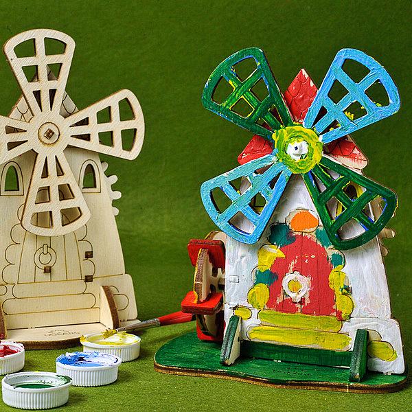 【UGEARS 著色小風車】木製模型 適合五歲以上孩童組裝