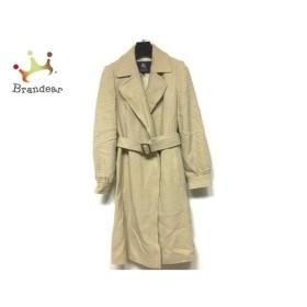 バーバリーロンドン Burberry LONDON コート サイズ40 L レディース 美品 ベージュ 冬物  値下げ 20191204