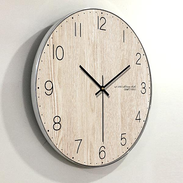 家用現代簡約鐘表客廳掛鐘創意臥室北歐美式時鐘掛表靜音個性裝飾WY【萬聖夜來臨】