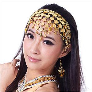 1.閃亮頭飾,增添亮眼外形n2.華麗舞蹈,美麗驚艷