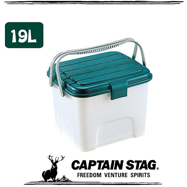 【CAPTAIN STAG 日本 鹿牌 月光寶盒 19L《L》】M-1966/可承重/置物桶/洗車桶/收納桶/萬用桶
