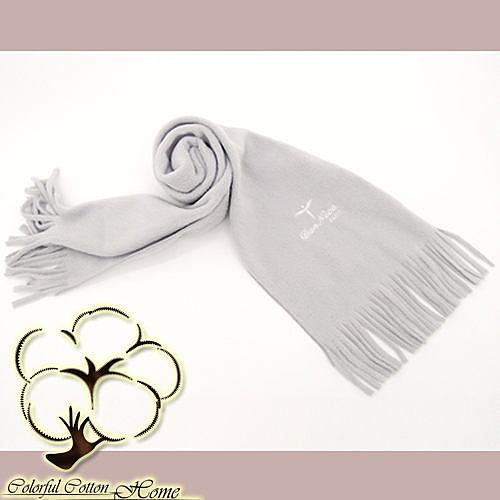 采棉居寢飾文化館- 銀離子抗菌發熱圍巾(25*145CM)
