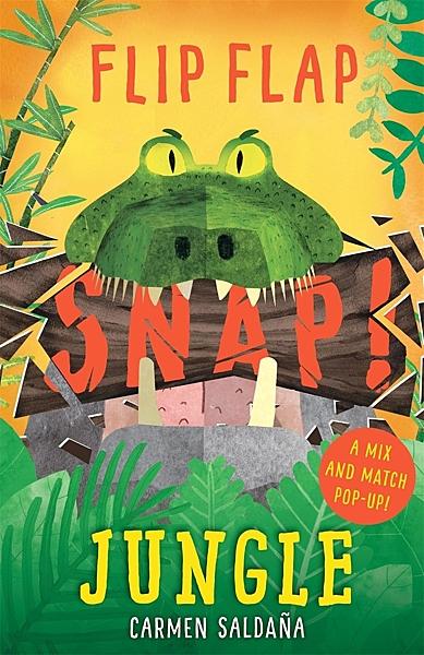 【麥克書店】FLIP FLAP SNAP ! : JUNGLE/ 英文繪本《立體書》