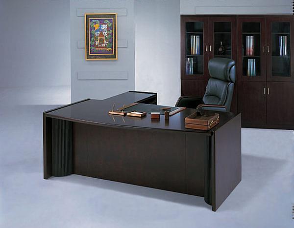 HAED-303L 主管桌-胡桃木色