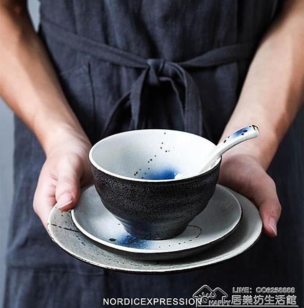 釉下青花卡通陶瓷盤餐具套裝飯店酒店家用圓盤碟裝菜盤子魚盤掛盤- 【2021新年鉅惠】