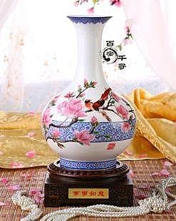 玉堂富貴 中式陶瓷花瓶