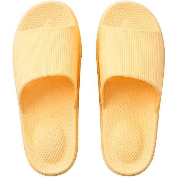 家居拖鞋女夏室內防滑家用涼拖鞋男浴室拖鞋厚底 萬客居
