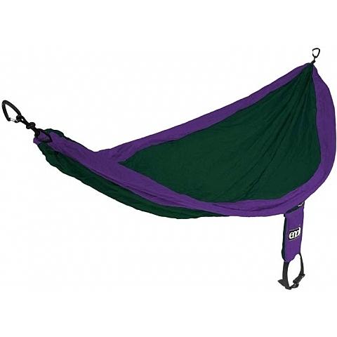 丹大戶外用品 【ENO】SINGLENEST HAMMOCK 單人吊床 紫/森林綠 SH007