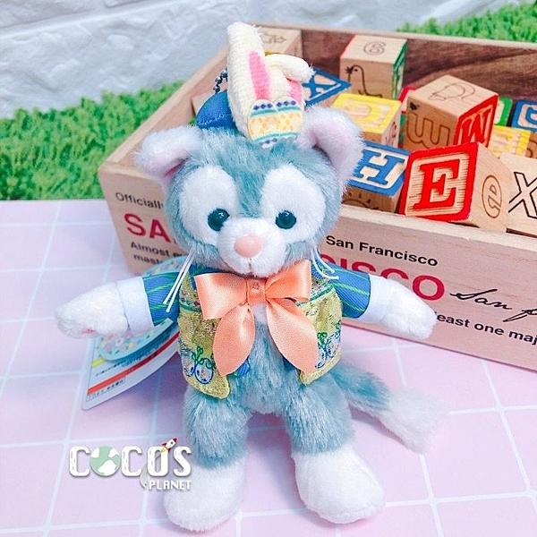 日本東京迪士尼 2019 復活節限定 傑拉托尼 畫家貓 站姿款 絨毛娃娃吊飾 COCOS TN650