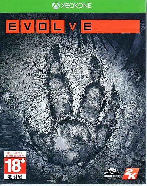 現貨中 XBOXONE遊戲 惡靈進化 Evolve 中文亞版 【玩樂小熊】
